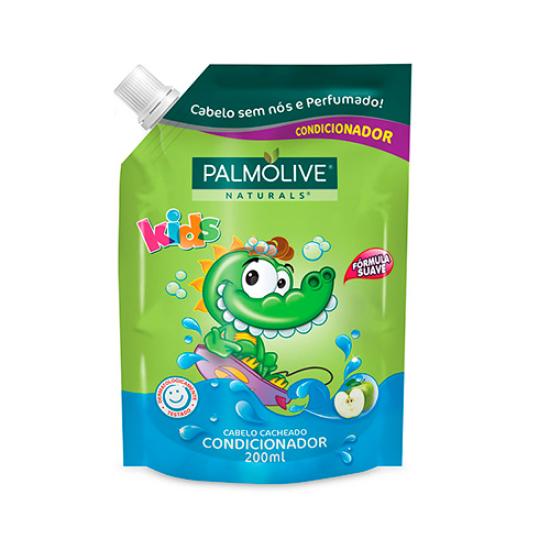 Imagem de Condicionador infantil palmolive 200ml kids cacheados refil