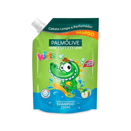 Imagem de Shampoo infantil palmolive 200ml kids cacheados refil