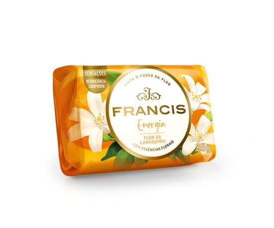 Imagem de Sabonete em barra uso diário francis 85g laranja