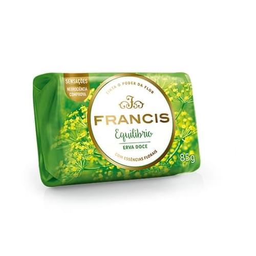 Imagem de Sabonete em barra uso diário francis 85g verde