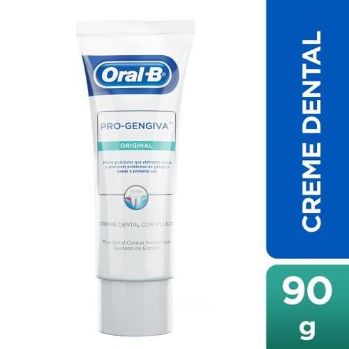Imagem de Creme dental tradicional oral-b 90g pro gengiva original