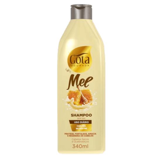 Imagem de Shampoo uso diário gota dourada 340ml mel