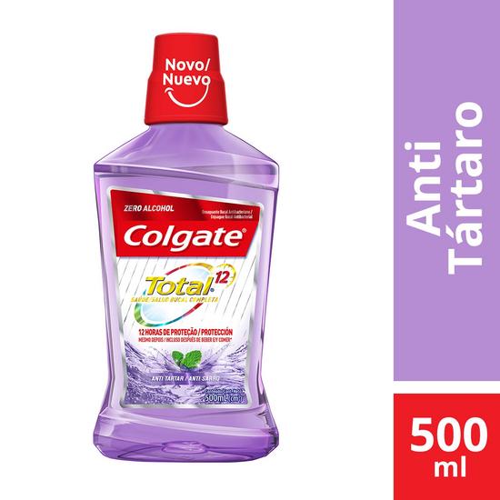 Imagem de Enxaguatório antisséptico colgate 500ml anti-tártaro