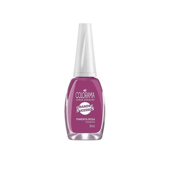 Imagem de Esmalte cremoso colorama 7ml pimenta rosa