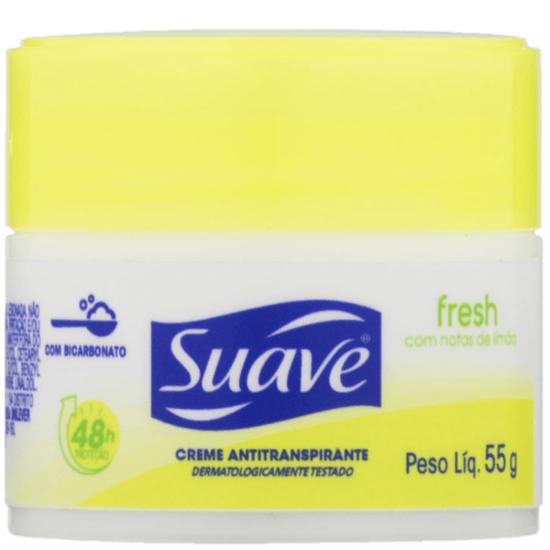Imagem de Desodorante em creme suave 55g feminino fresh