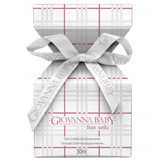 Imagem de Colônia desodorante giovanna baby 50ml feminino blanc vanilla