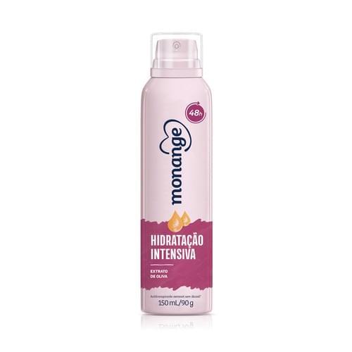 Imagem de Desodorante aerosol monange 150ml hidratação intensa