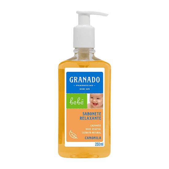 Imagem de Sabonete líquido infantil granado 250ml camomila