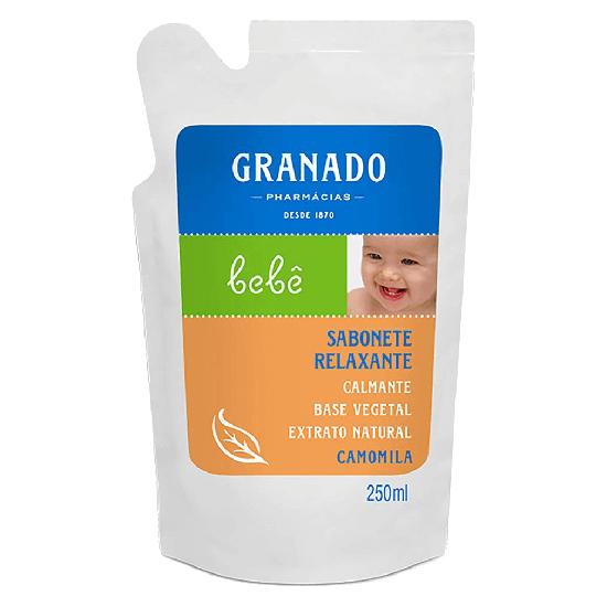 Imagem de Sabonete líquido refil granado 255ml camomila