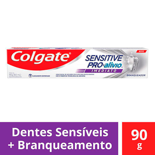 Imagem de Creme dental terapeutico colgate 90g sensitive pro alívio imediato branq.