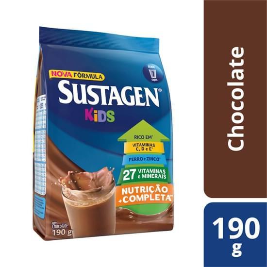 Imagem de Suplemento alimentar sache sustagen kids 190g chocolate