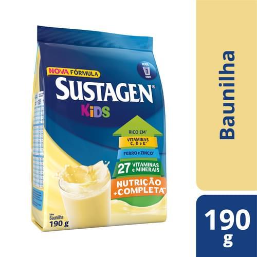 Imagem de Suplemento alimentar sache sustagen kids 190g baunilha