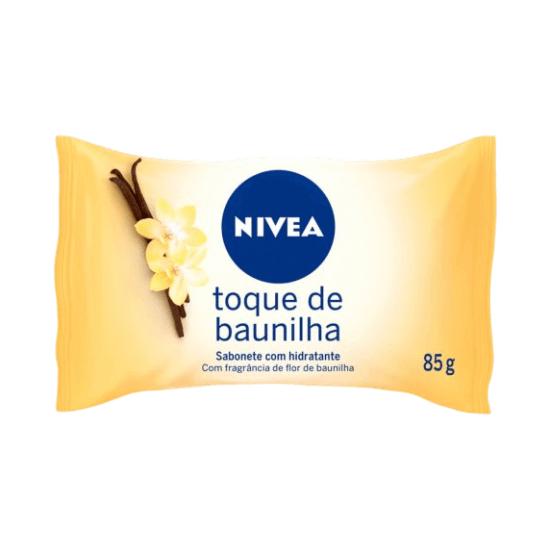 Imagem de Sabonete em barra uso diário nivea 85g toque de baunilha