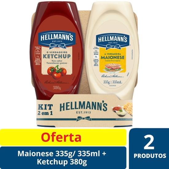Imagem de Kit ketchup+maiones hellmanns