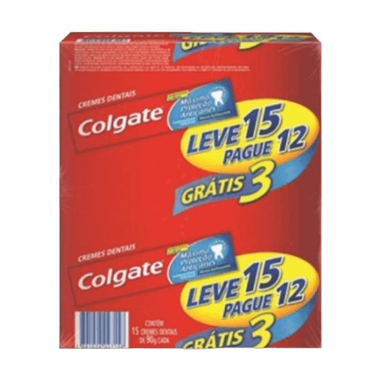 Imagem de Creme dental tradicional colgate 180g mpa l15 p12 unit