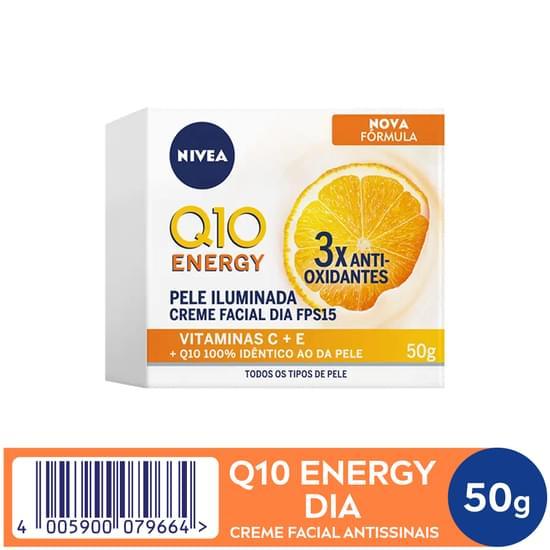 Imagem de Creme facial anti-idade nivea 51g dia fps15