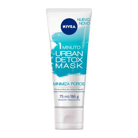 Imagem de Máscara facial nivea 75ml urban detox minimiza poros