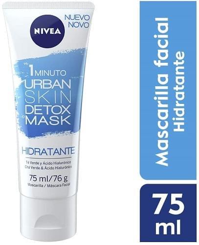 Imagem de Máscara facial nivea 75ml urban detox hidratante
