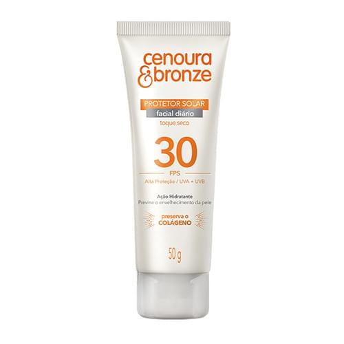 Imagem de Protetor solar facial cenoura e bronze 50g fps30