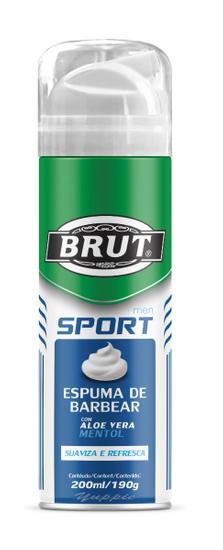 Imagem de Espuma de barbear em tubo brut 200ml sport