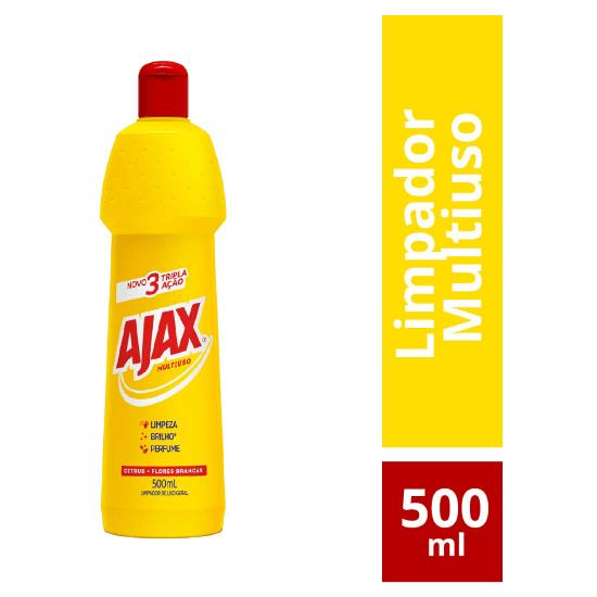Imagem de Limpador multi-uso ajax 500ml citrus flores brancas