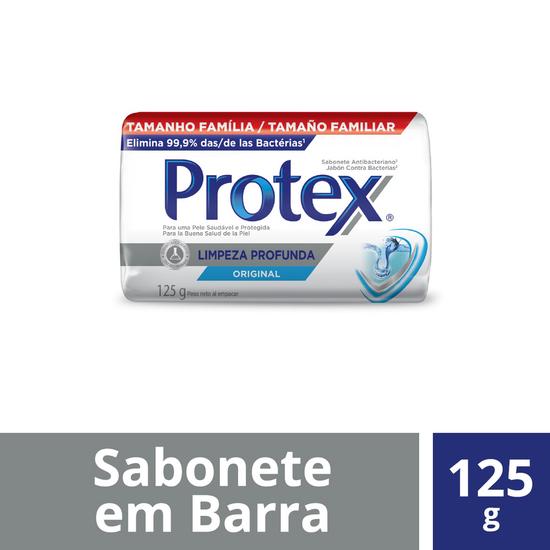 Imagem de Sabonete em barra bactericida protex 125g limpeza profunda
