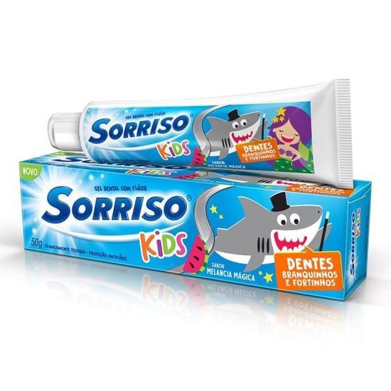Imagem de Creme dental gel sorriso 50g kids melancia