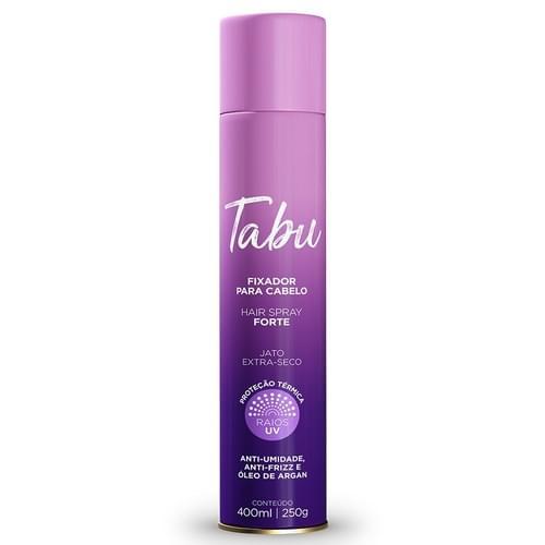 Imagem de Hair spray fixador tabu 400ml forte