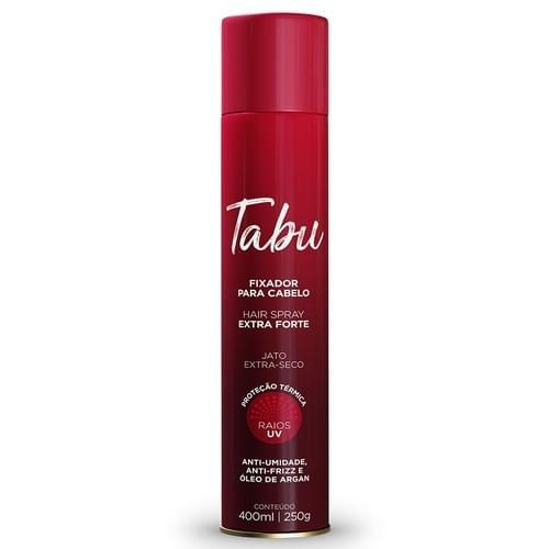 Imagem de Hair spray fixador tabu 400ml extra forte