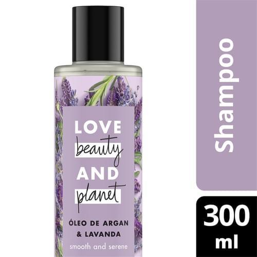 Imagem de Shampoo uso diário love beauty 300ml óleo de argan e lavanda
