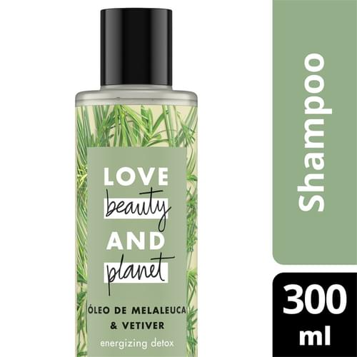 Imagem de Shampoo uso diário love beauty 300ml óleo de melaleuca & vetiver
