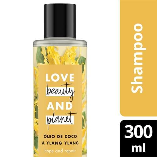 Imagem de Shampoo uso diário love beauty 300ml óleo de coco e ylang ylang
