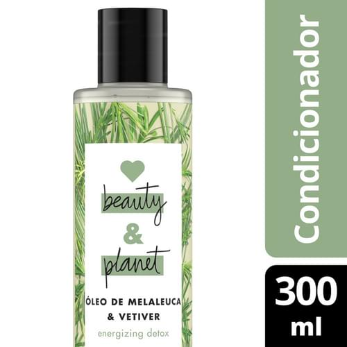 Imagem de Condicionador uso diário love beauty 300ml óleo de melaleuca & vetiver