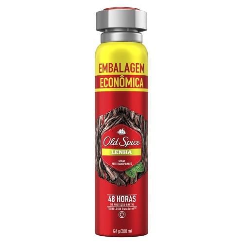Imagem de Desodorante aerosol old spice 200ml lenha