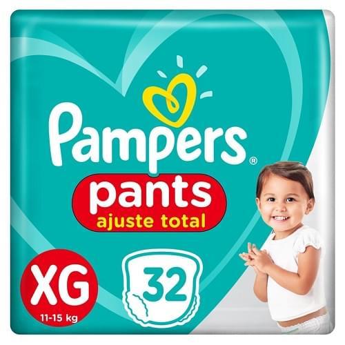 Imagem de Fralda infantil pampers pants c/32 confort sec xg