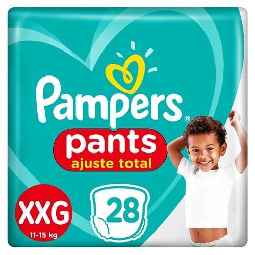 Imagem de Fralda infantil pampers pants c/28 confort sec xxg