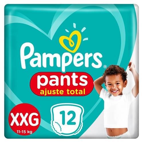 Imagem de Fralda infantil pampers pants c/12 confort sec xxg