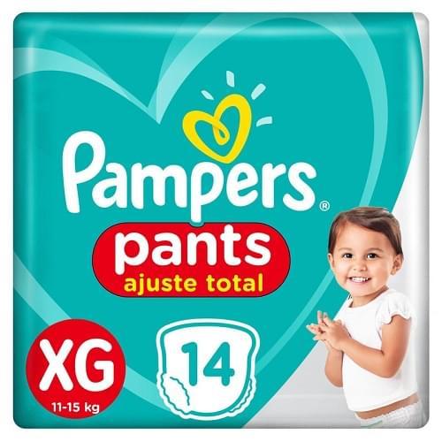Imagem de Fralda infantil pampers pants c/14 confort sec xg