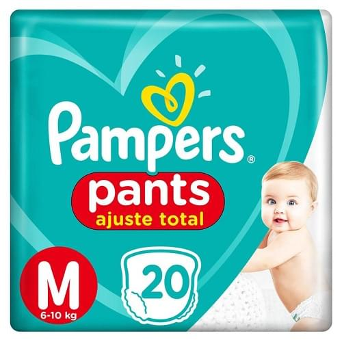 Imagem de Fralda infantil pampers pants c/20 confort sec md