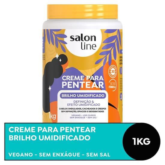 Imagem de Creme para pentear salon line 1kg umidificado