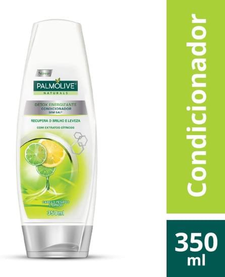 Imagem de Condicionador uso diário palmolive 350ml detox energizante