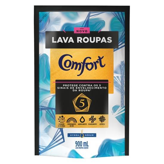 Imagem de Lava-roupas concentrado comfort 900ml hydra sérum refil