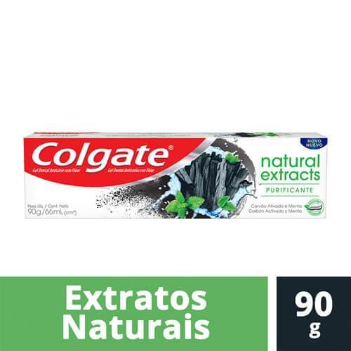 Imagem de Creme dental tradicional colgate 90g naturals extrate purificante