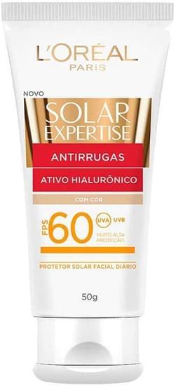 Imagem de Protetor solar facial solar expertise 50g fps60 50g anti rugas com cor