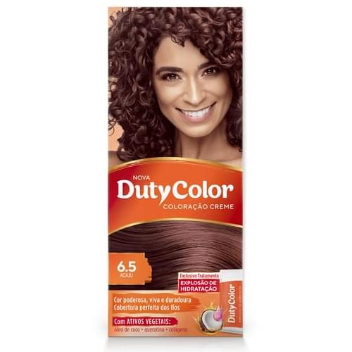 Imagem de Tintura permanente duty color 6.5 acajú