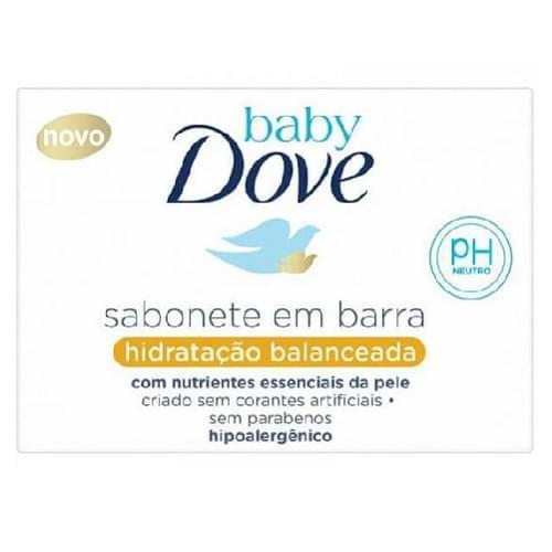 Imagem de Sabonete em barra infantil dove baby 75g hidratação balanceada