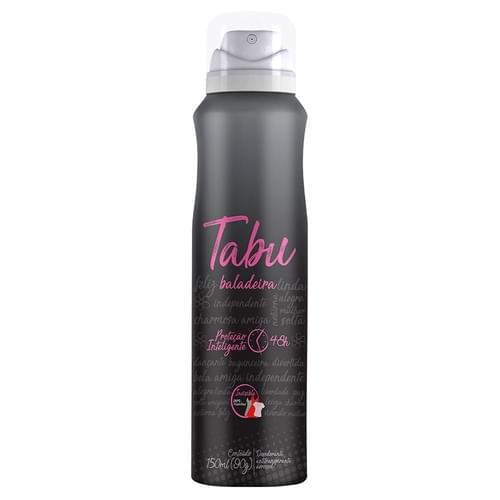 Imagem de Desodorante aerosol tabu 150ml balada