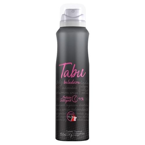 Imagem de Desodorante aerosol tabu 150ml balada
