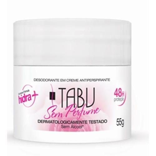 Imagem de Desodorante creme tabu 55g sem perfume