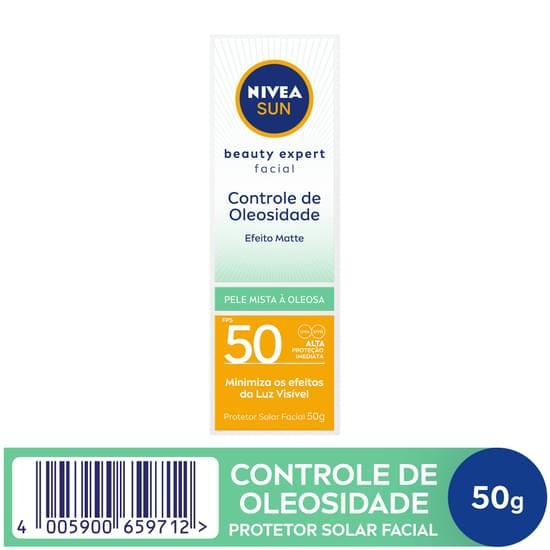 Imagem de Protetor solar facial nivea 50g fps 50 pele oleosa